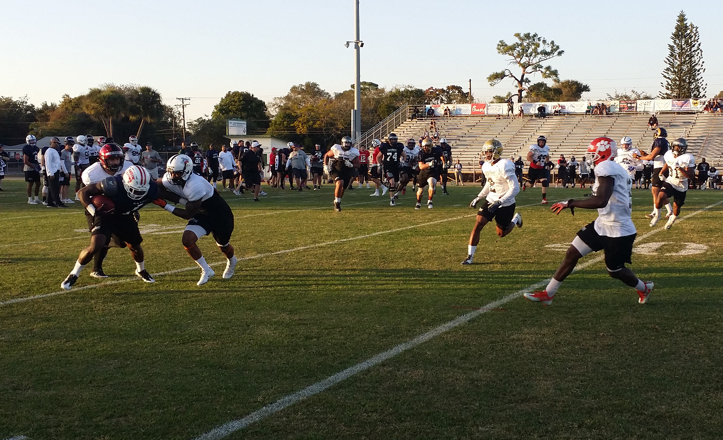 Shrine Game: West Practice – Day One
