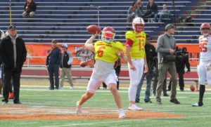Senior Bowl: North Practice Day One